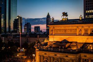 Skyline und Alte Oper